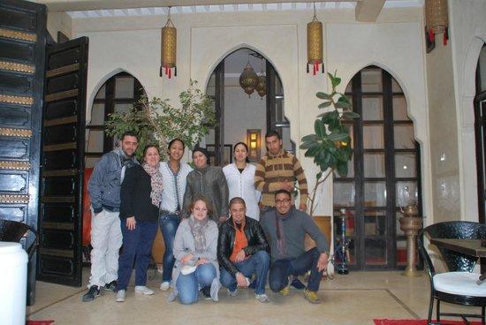 Riad Diana: Boujamaa et son équipe (encore un gros merci a eux pour leur accueil et leur disponibilité)