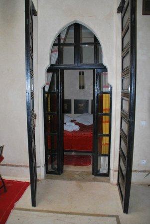 Riad Diana: chambre donnant sur le patio