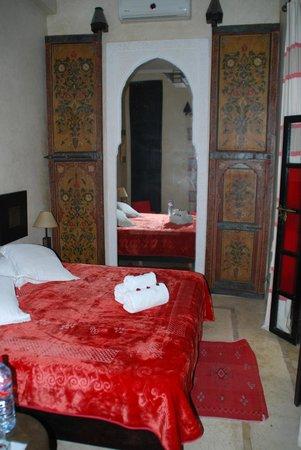 Riad Diana: chambre