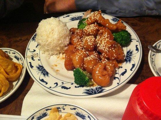 Pearl Garden: Sesame Chicken