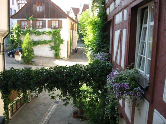 Gasthof zum Baren: Blick aus dem Zimmerfenster