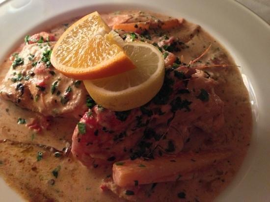Malata Restaurant : salmon