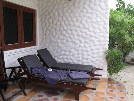 Cinnamon Dhonveli Maldives: veranda