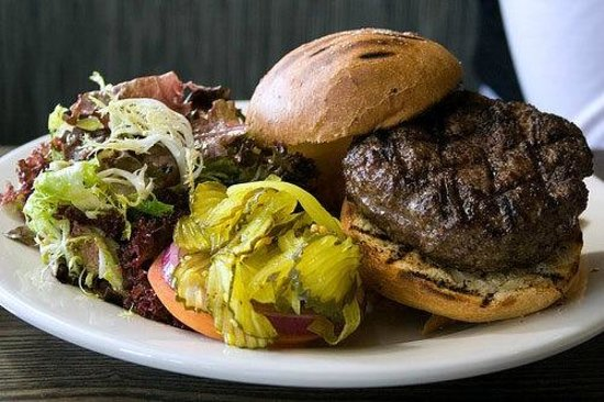 Landmarc : Best $15 Burger... EVER... and it should be...