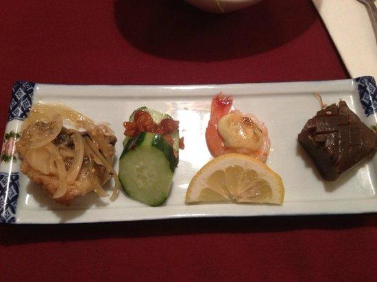 Yoshitsune Restaurant: part of the combo