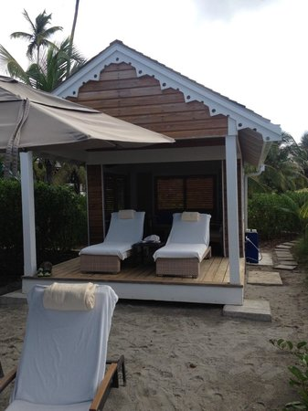 Four Seasons Resort Nevis, West Indies: Private Beach Cabana
