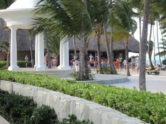 Barcelo Bavaro Palace: Gazebo (several weddings taking place daily)