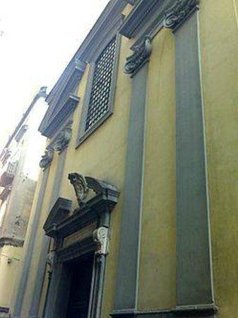 Cappella Sansevero: Ingresso cappella