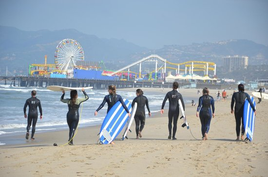 Santa Monica Surf School