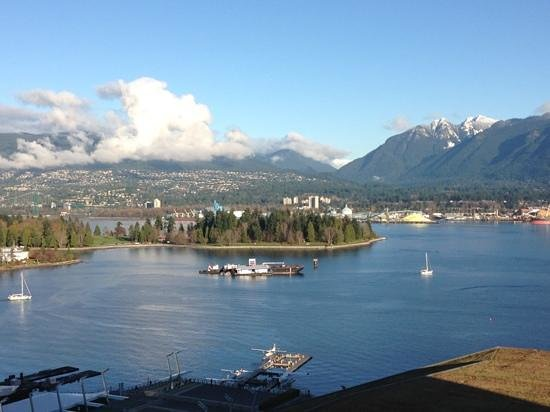 Fairmont Pacific Rim: a room with a view