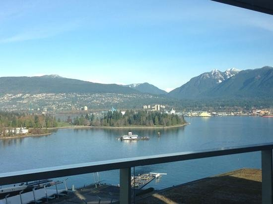 Fairmont Pacific Rim: breakfast view