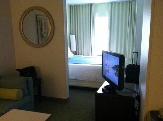SpringHill Suites Dallas Addison/Quorum Drive: Living Room