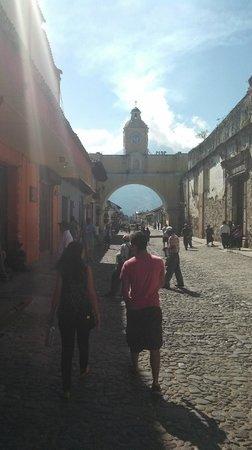 Camino Real Antigua: Famous Arch in Antigua.
