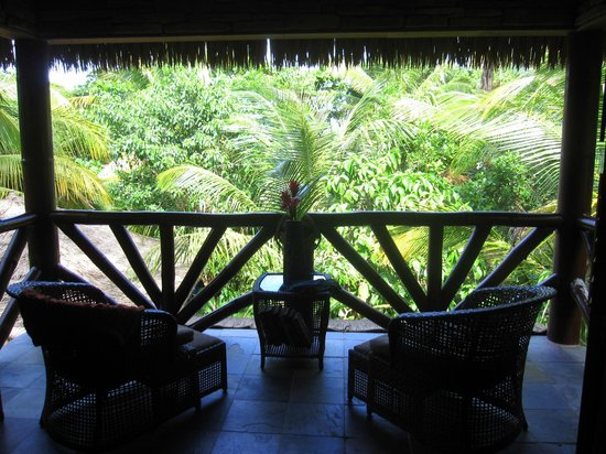 Escape at Red Rock Haven: View of Beach Room Patio