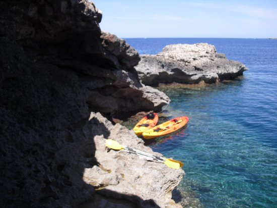 Kayak excursion (northern side of Ibiza) - Picture of