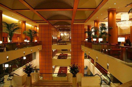 JW Marriott Washington, DC: Beautiful Lobby