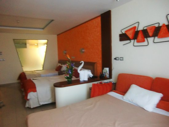 Grand Sirenis Riviera Maya Resort & Spa: notre suite junior...