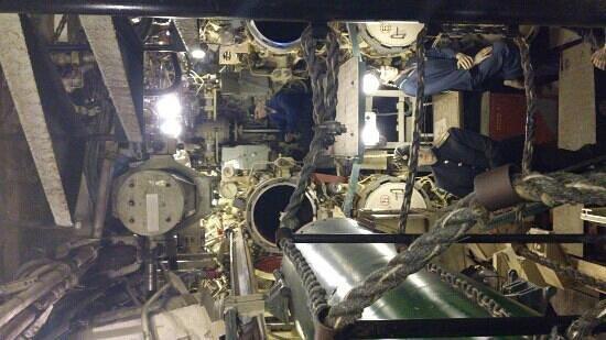 U-Boot Museum Hamburg: torpedo room