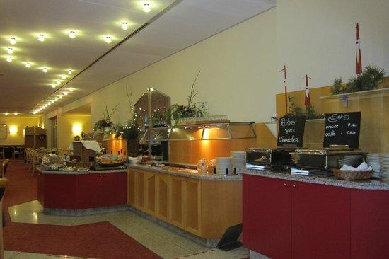 Hotel Deutscher Hof: de ontbijt ruimte