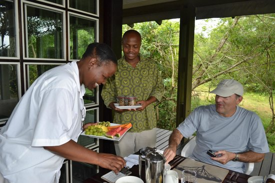 andBeyond Phinda Forest Lodge: The best fresh food