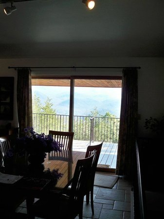 Chalet Village: View from living room.