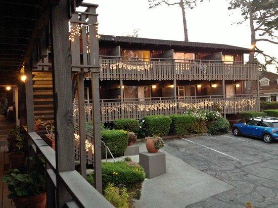 Olympia Lodge: Christams lights