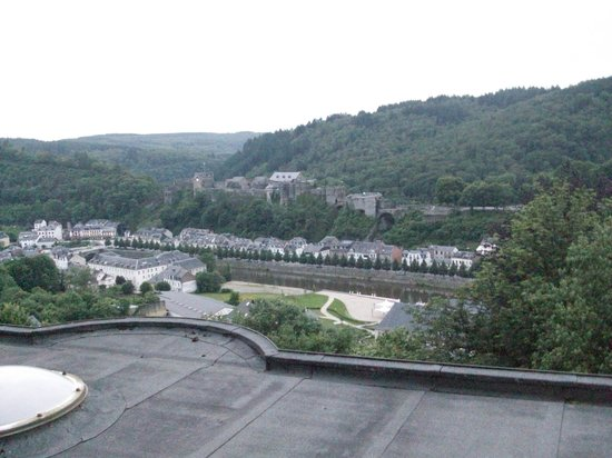 Bouillon Youth Hostel: View in day