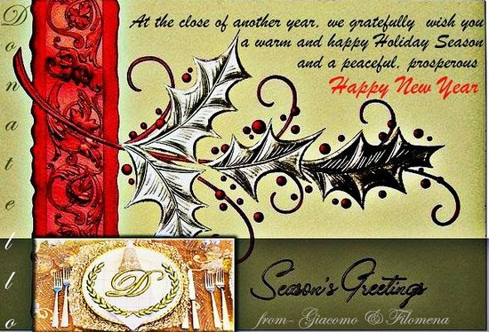 Happy Holidays And Thanks To All >> Thanks To All Of Our Clients For The Excellent Comments You