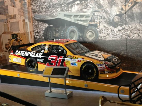 Caterpillar Visitors Center: For NASCAR Enthusiasts