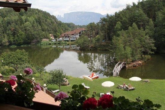 Hotel Weihrerhof: vista dal balcone