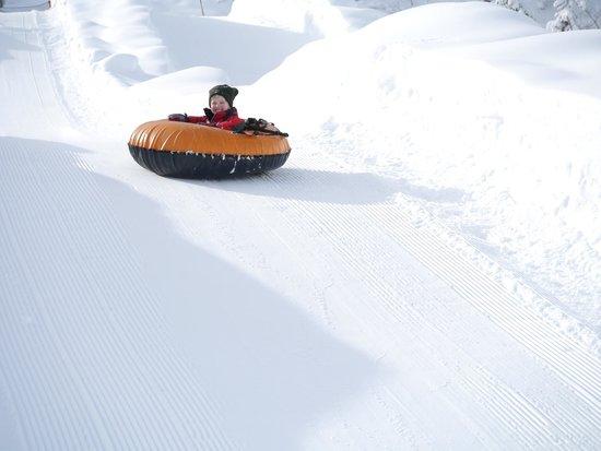 Howelsen Ski Area: Tubing at Howelsen Hill - solo