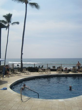Kona Reef Resort: Where we spent most of our time