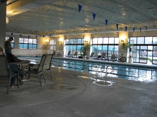 Millennium Harvest House: Indoor pool area