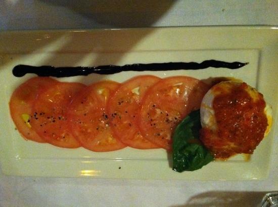 Indigo Restaurant: tomato carpaccio