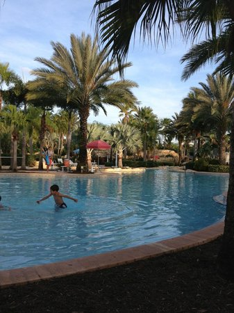 Reunion Resort of Orlando: Hotel Pool (One section)