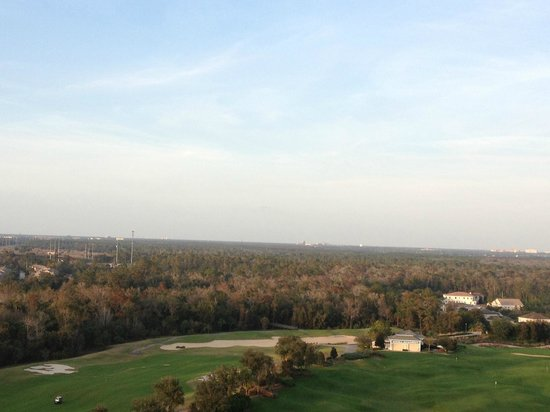 Reunion Resort of Orlando: View from the rooftop Lounge