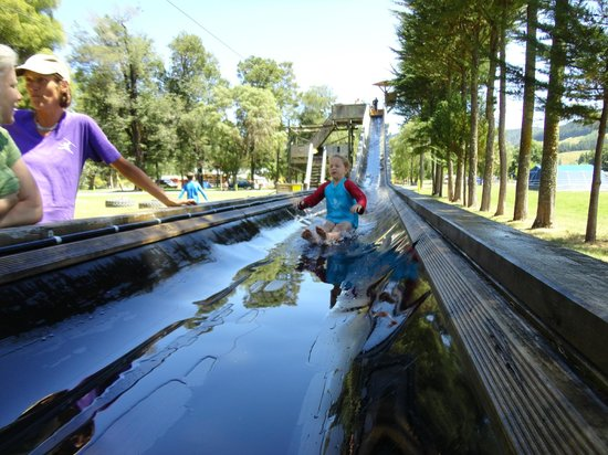 Quinney's Bush Camp : Waterslide fun