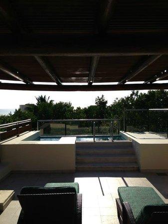 Fairmont Mayakoba: Private pool (Beach Area Suite)