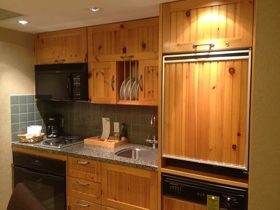 The Westin Resort & Spa, Whistler: the kitchenette