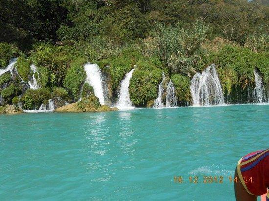 Embarcadero La Morena: nacimientos de agua