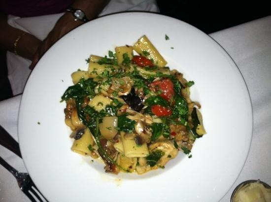 Indigo Restaurant: Veggie Pasta