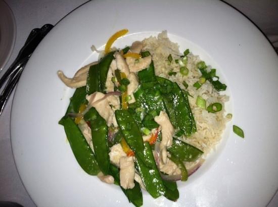 Indigo Restaurant: Asian Chicken Curry