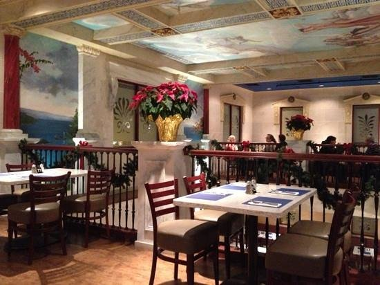 The Greek: Up-stairs dining
