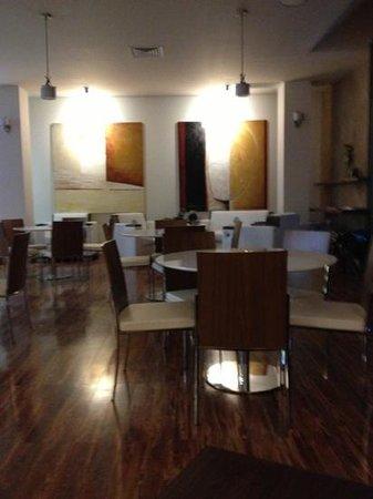 Cafe Sante: decor!