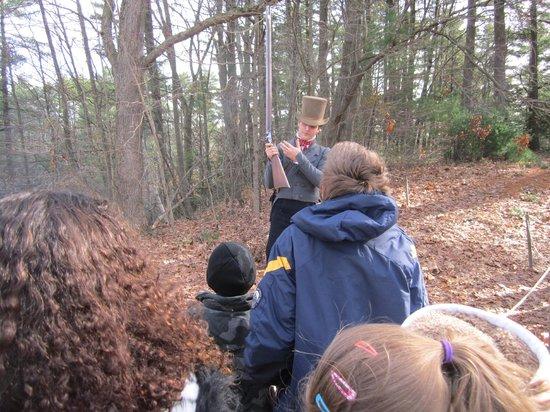 Old Sturbridge Village: musket firing