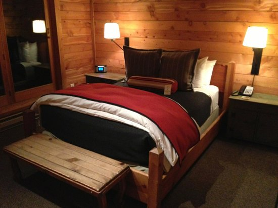 Sundance Resort: The bed was fantastic! We slept extremely well and even had a hard time getting up in the mornin