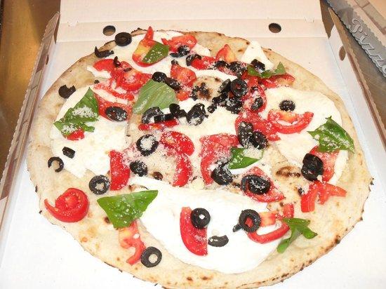 Squisy Pizza: la caprese
