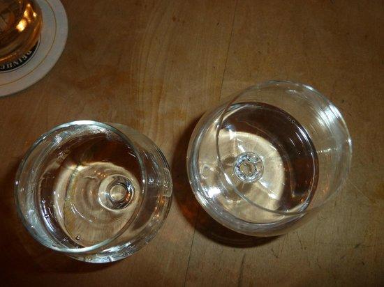 Ennstaler Stubn: Our wonderful glasses of schnapps! I miss Munich!