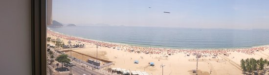JW Marriott Hotel Rio de Janeiro: Não tem como não pedir quarto com vista para o mar...
