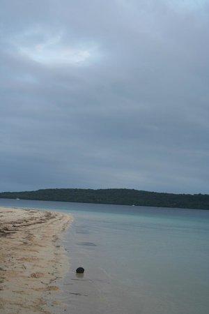 The Havannah, Vanuatu: beach view